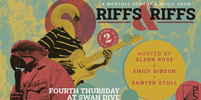 Riffs and Riffs Monthly Comedy & Music Show: Jan. 2020