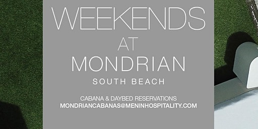 Weekends at Mondrian Pool