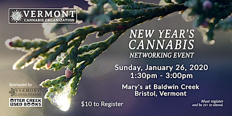 New Year's Cannabis Networking Event tickets