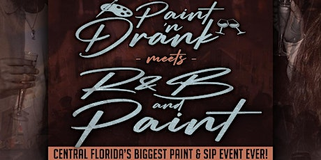 Paint-N-Drank™️: R&B and Paint edition @ Millenia3 Event Gallery tickets