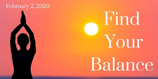 Find Your Balance Wellness Workshop