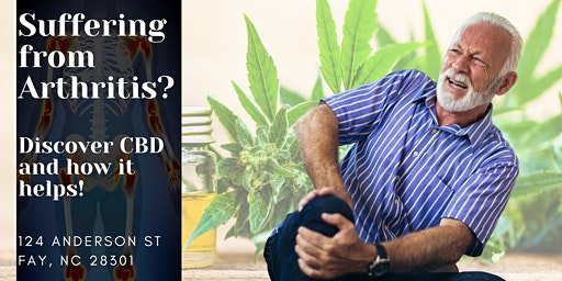 Suffering from ARTHRITIS? Learn how CBD can help!