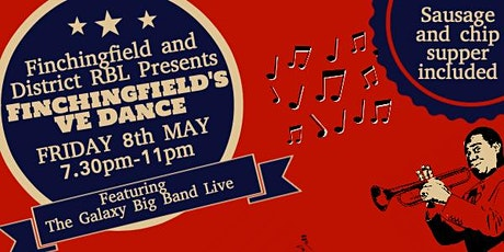 Finchingfield Royal British Legion VE Dance tickets