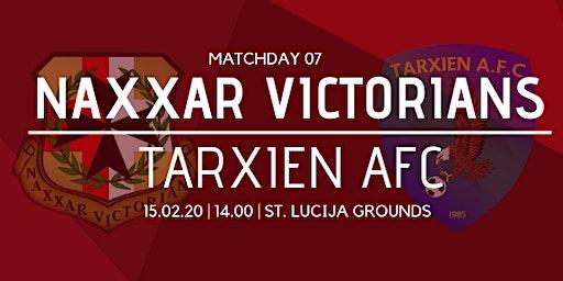 Matchday 07: Naxxar Victorians vs Tarxien