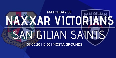 Matchday 08: Naxxar Victorians vs San Giljan Saints tickets