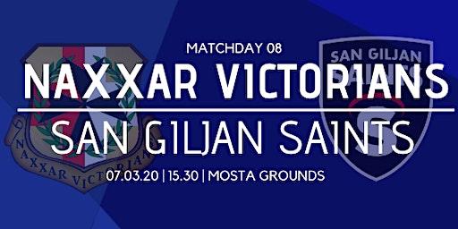 Matchday 08: Naxxar Victorians vs San Giljan Saints