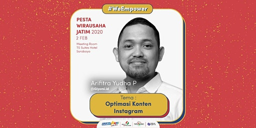 Workshop Optimasi Konten Instagram oleh Yudha - Owner @Giyomi.id