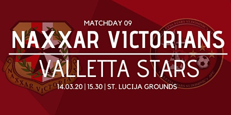 Matchday 09: Naxxar Victorians vs Valletta Stars tickets