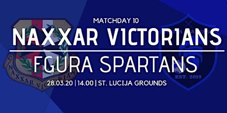 Matchday 10: Naxxar Victorians vs Fgura Spartans tickets