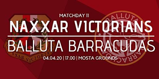 Matchday 11: Naxxar Victorians vs Balluta Barracudas