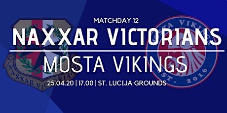 Matchday 12: Naxxar Victorians vs Mosta Vikings tickets