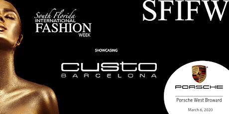 South Florida International Fashion Week - Porsche West Broward 030620 tickets