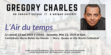 Gregory Charles - L'Air du temps tickets