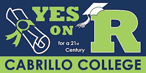 Cabrillo College - Measure R Kickoff Event