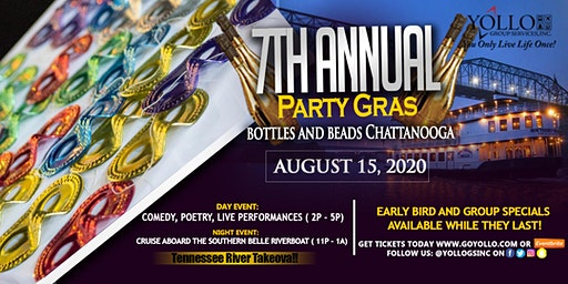 Party Gras VI Bottles and Beads 2020