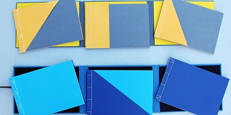 Bookbinding Workshop: Japanese Bindings & Wrap-around Folder tickets