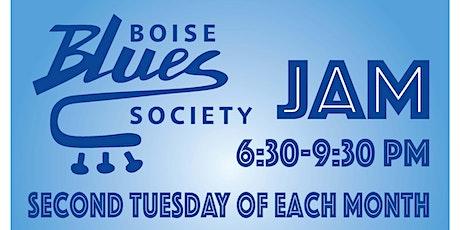 Boise Blues Society JAM tickets