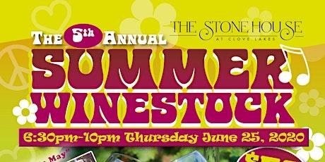 Summer Winestock tickets
