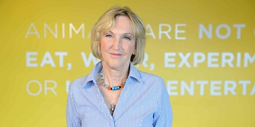 Ingrid Newkirk, President and Co-founder of PETA