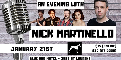 An Evening With Nick Martinello