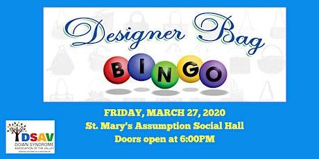 DSAV Designer Purse Bingo - SOLD OUT tickets