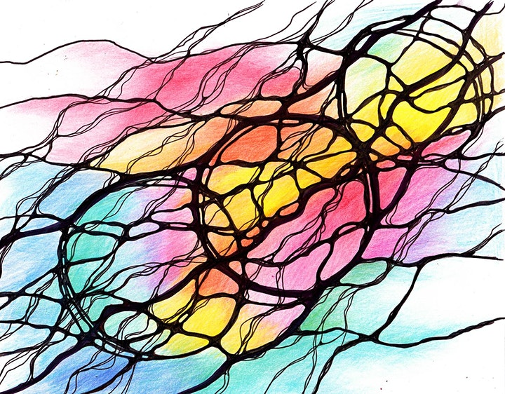 NeuroGraphic Art:  To a Brighter Future with NeuroGraphica image