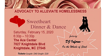 Advocacy to Alleviate Homelessness, 4th Annual Sweetheart Dinner and Dance! tickets