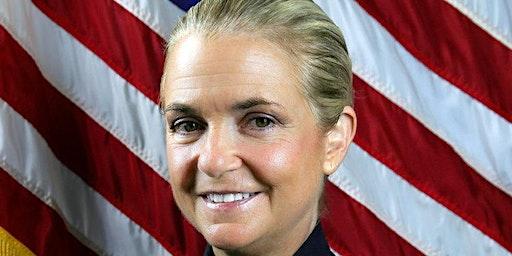 Sarasota Police Chief Bernadette DiPino in Conversation with Elsie Souza
