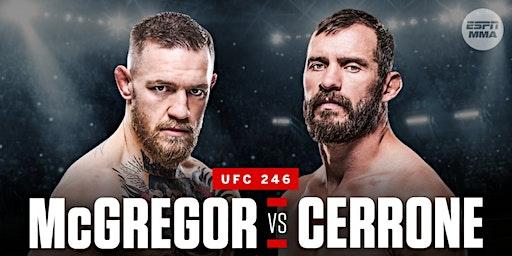 UFC Mcgregor vs Cerrone