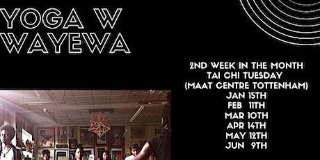 Yoga with Wayewa (North London) tickets