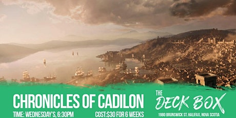 Wednesday D&D: Chronicles of Cadilon tickets