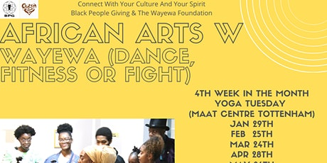 Wilcard BPG Session (African Martial Arts Dance Fitness)(North London) tickets