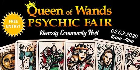 Queen of Wands Psychic Fair at Klemzig 02-02-2020 tickets