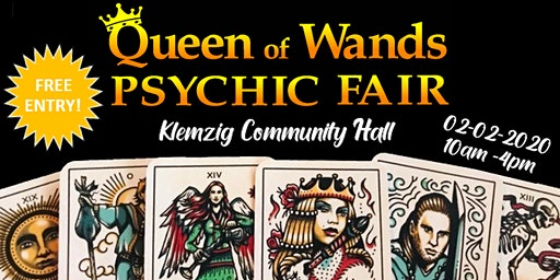 Queen of Wands Psychic Fair at Klemzig 02-02-2020