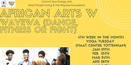 Wilcard BPG Session (African Martial Arts Dance Fitness) (South London) tickets
