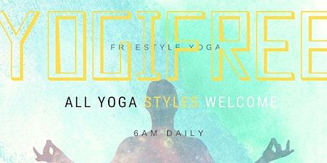 YOGIFREE Freestyle Yoga tickets