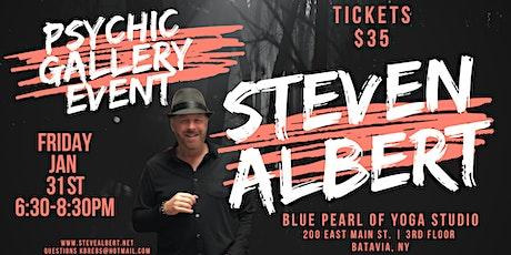 Steven Albert: Psychic Gallery Event - Blue Pearl1/31 tickets