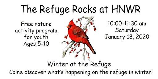 Refuge Rocks for Youth - Winter at the Refuge