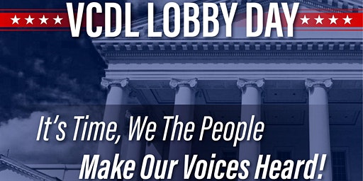 VCDL Lobby Day 2020 Bus Ride from Chester/Colonial Heights Jan 20, 2020