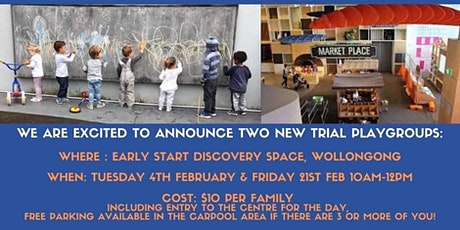 Early Start Discovery Space Playgroup 2020 tickets