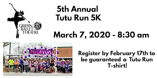 GBT 2020 5th Annual Tutu Run 5K
