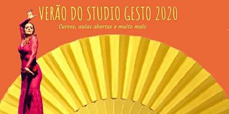 Cursos de Verão - Studio Gesto 2020 ingressos