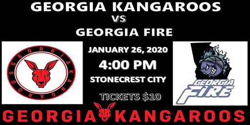 Georgia Kangaroos vs Georgia Fire