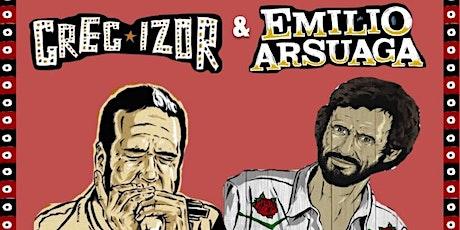 GREG IZOR & EMILIO ARSUAGA HARMONICA SHOW entradas