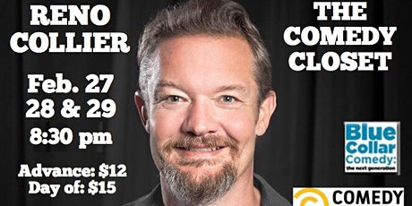 Reno Collier Live (Friday Show) tickets