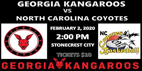 Georgia Kangaroos vs North Carolina Coyotes tickets