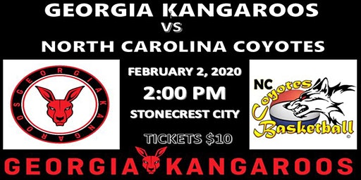 Georgia Kangaroos vs North Carolina Coyotes