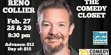Reno Collier Live (Saturday Show) tickets