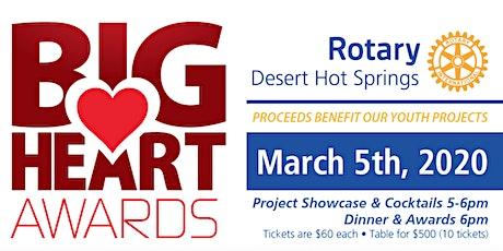 2020 Desert Hot Springs Big Heart Awards tickets