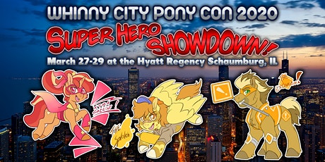 Whinny City Pony Con 2020 tickets